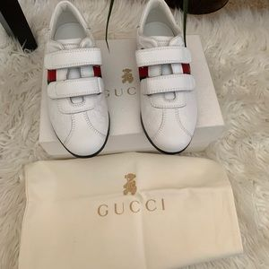 Authentic kids Gucci sneakers